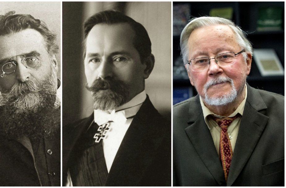 Jonas Basanavičius, Antanas Smetona ir Vytautas Landsbergis