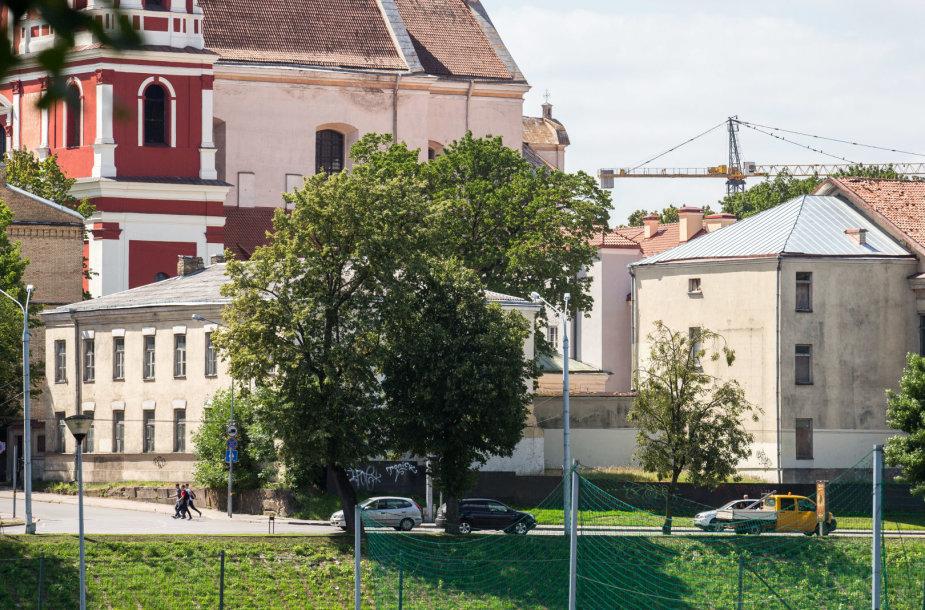 Šv. Jokūbo ligoninės teritorija