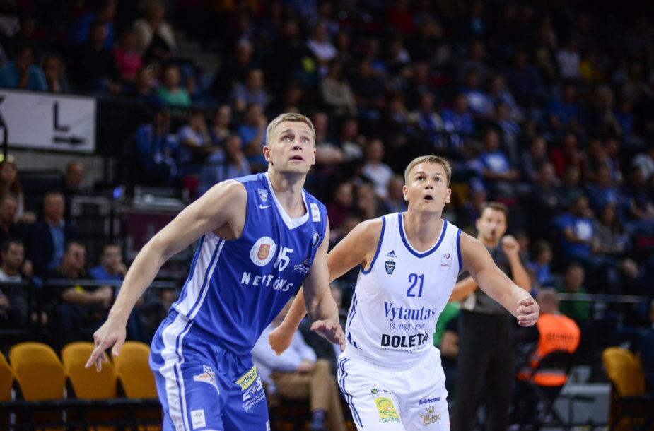 Vytautas Šarakauskas ir Martynas Linkevičius