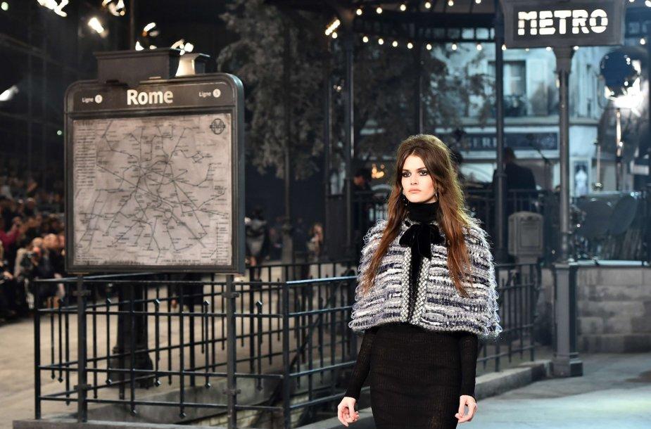 """""""Chanel"""" tarpsezoninės kolekcijos pristatymas"""