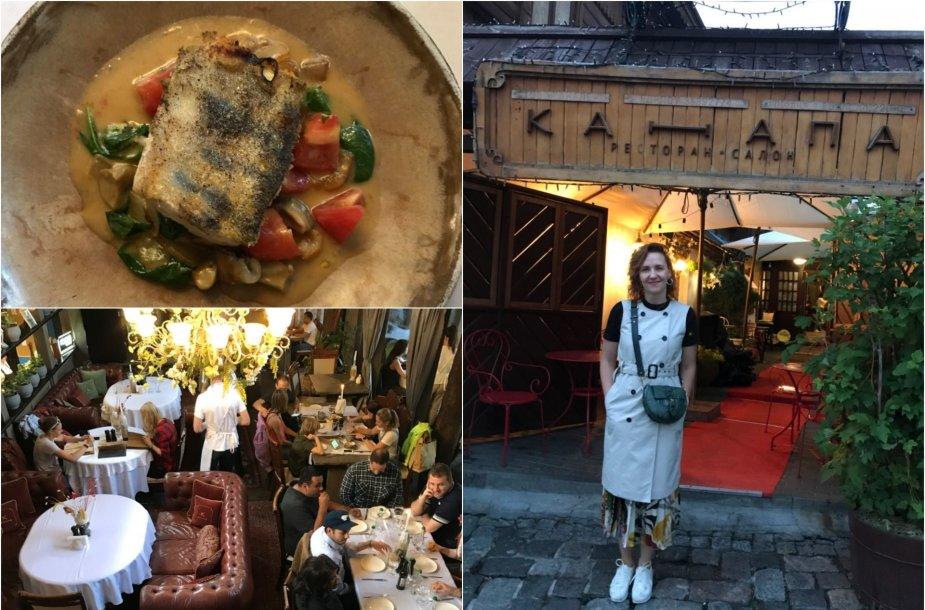 FeedMySister bendraautorė Asta ir jos aplankytas restoranas Kijeve