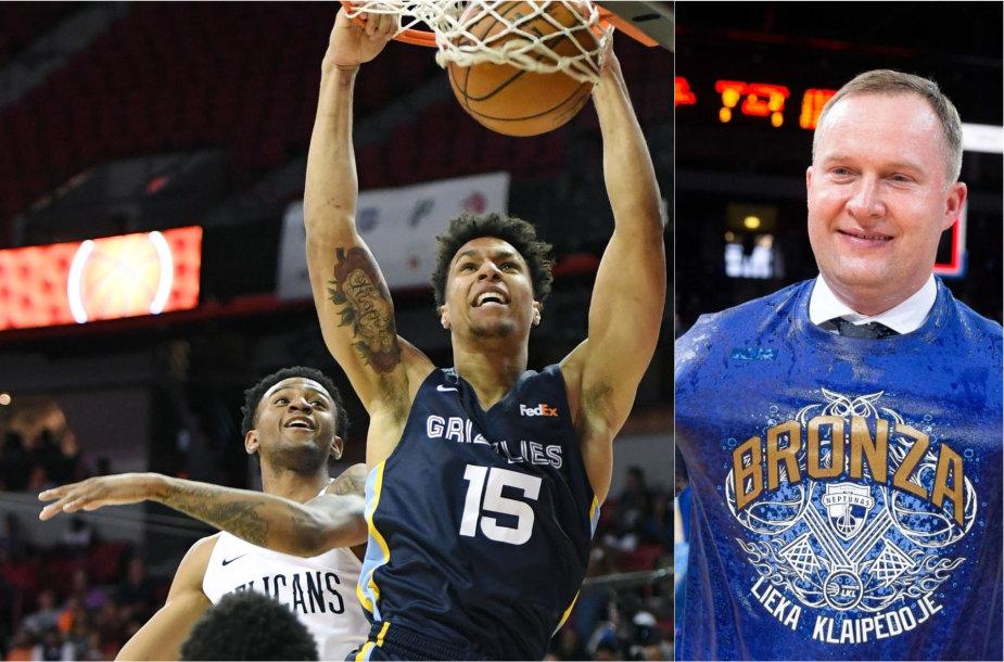 NBA vasaros lyga artėja prie finišo linijos