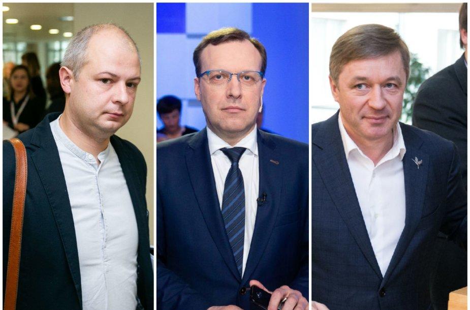 Simonas Gentvilas, Naglis Puteikis ir Ramūnas Karbauskis
