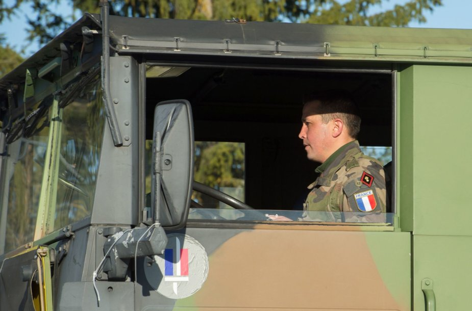 Prancūzijos karinė technika Estijoje
