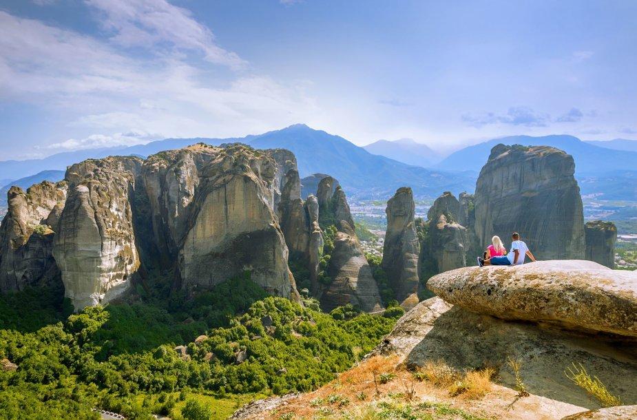 Meteora, Graikija