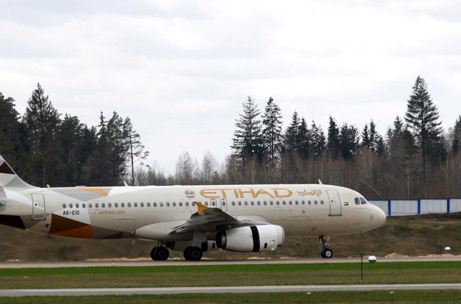 """""""Etihad Airways"""" lėktuvas"""
