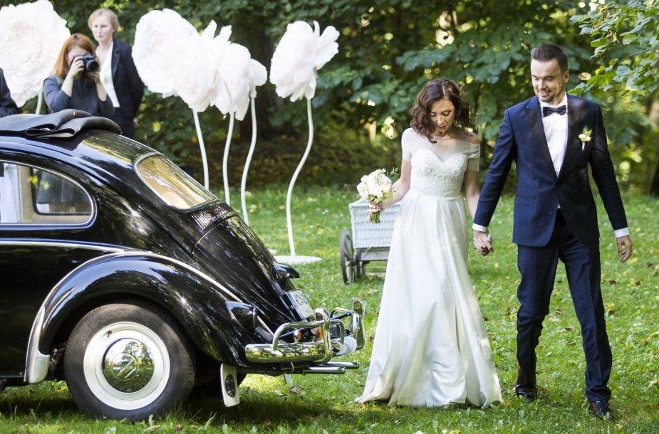 Germano Skorio ir Vaidos Paukštytės vestuvės