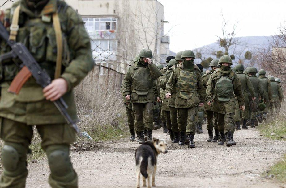 Rusų kariai Ukrainoje