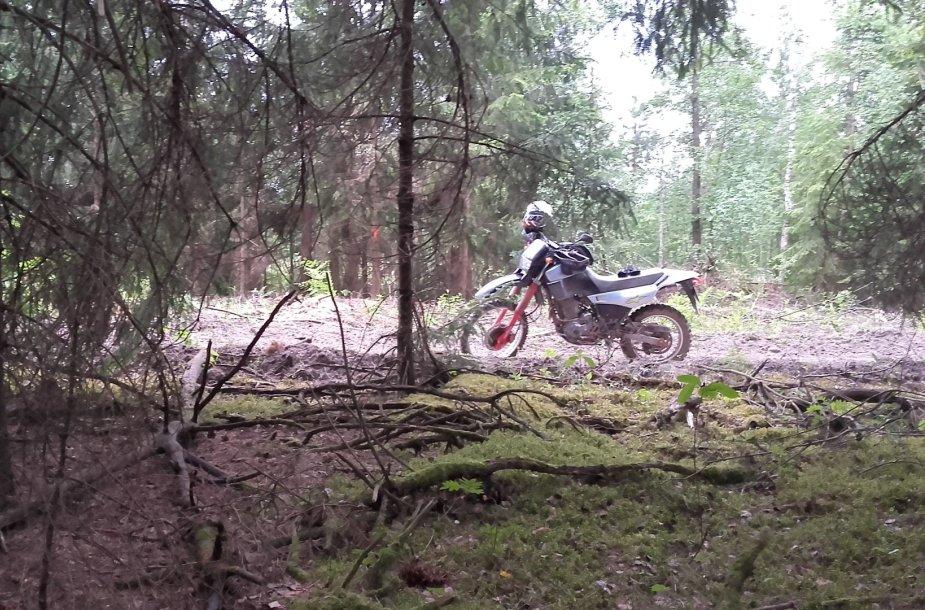 """""""Enduro"""" motociklas"""