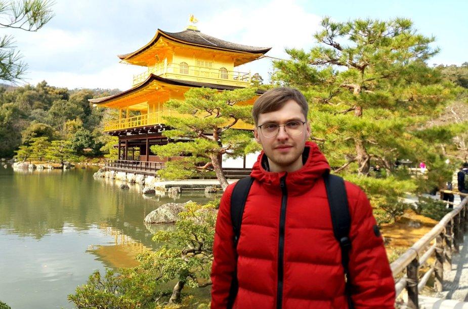 Giedrius Japonijoje