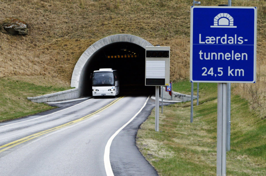 Laerdalio tunelis Norvegijoje
