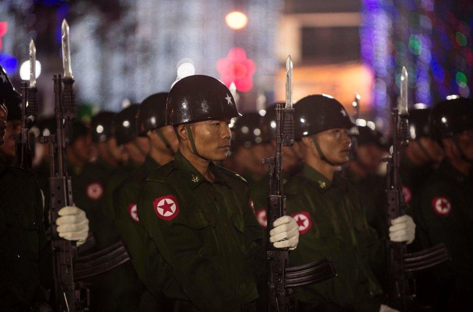 Mianmaro kariai