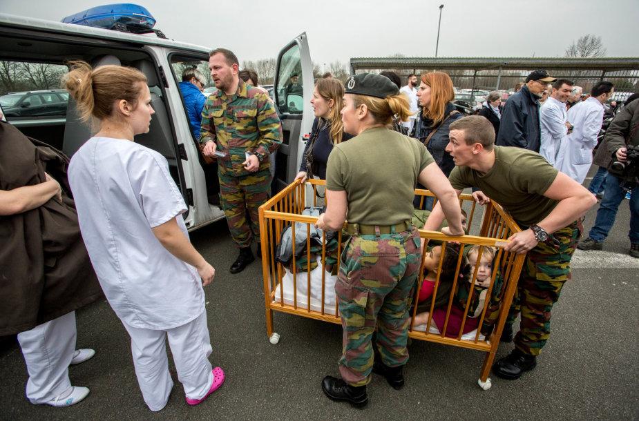 Briuselio Karalienės Astridos ligoninės evakuacija
