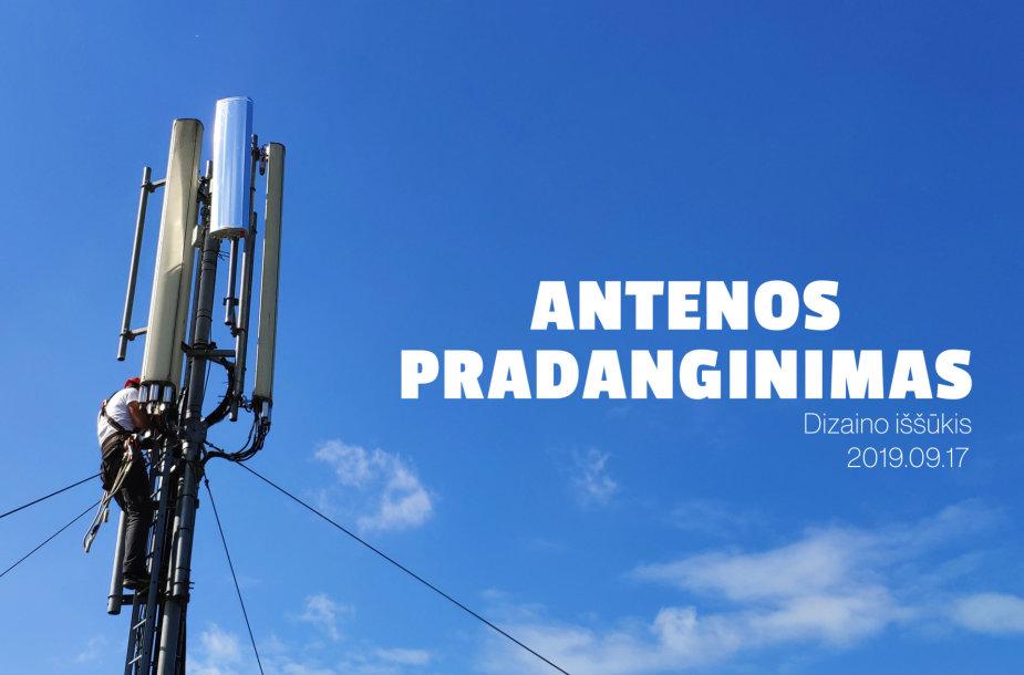 """""""Antenos pradanginimas"""""""