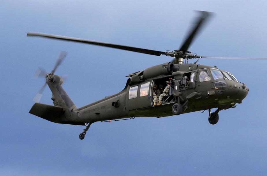 """""""Black Hawk"""" sraigtasparnis"""