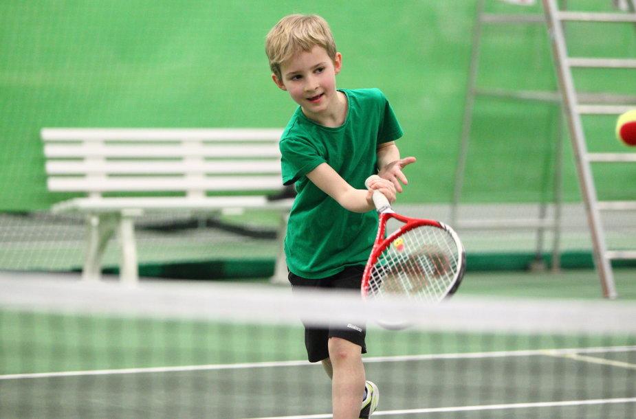 Vilniaus teniso akademijos auklėtiniai