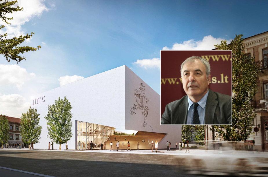 Viktoras Butkus ketina į Modernaus meno centro statybas ir kolekciją investuoti 20 mln. Lt.