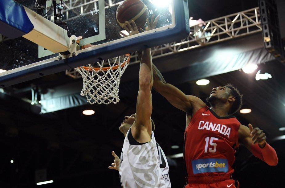 Kanados krepšinio rinktinė
