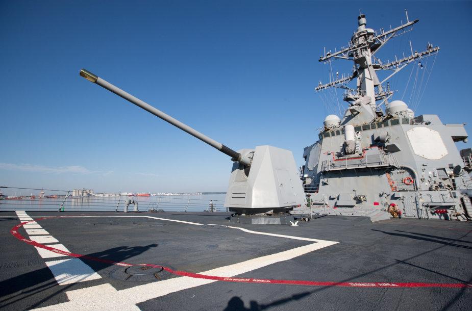 "JAV eskadrinis minininkas ""USS Winston S. Churchill"""