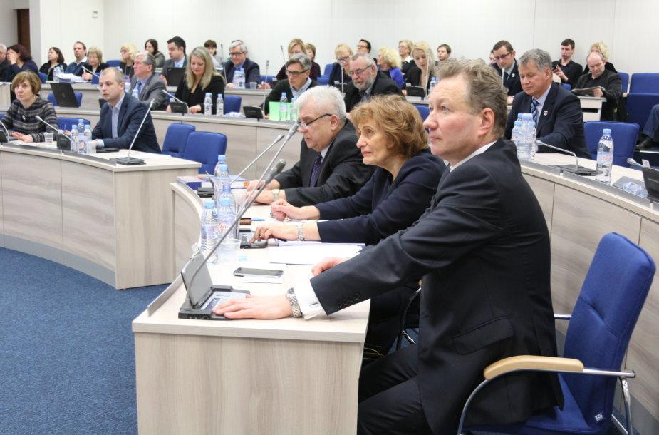 Klaipėdos miesto tarybos nariai pritarė rekordiškai dideliam miesto biudžetui.