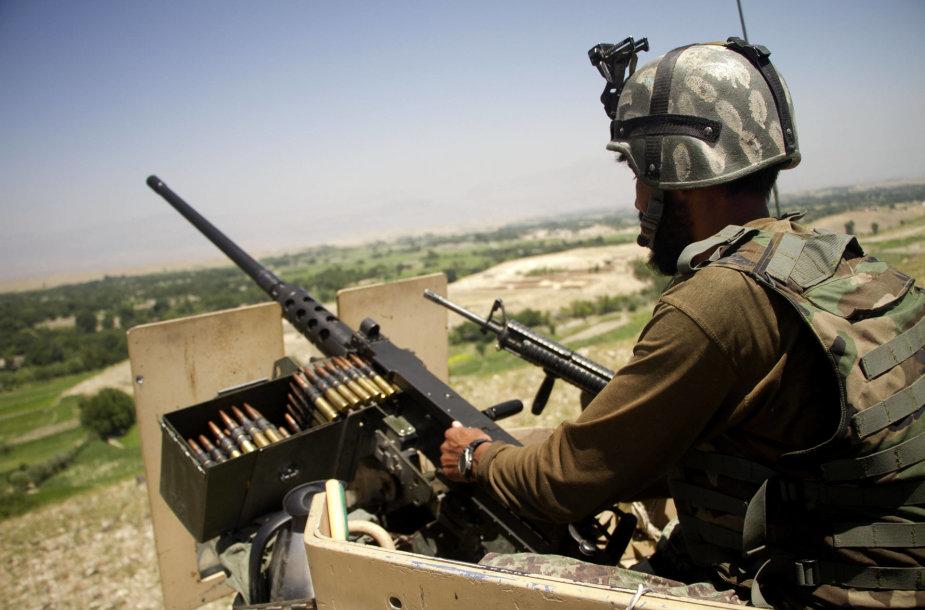 Afganų karys