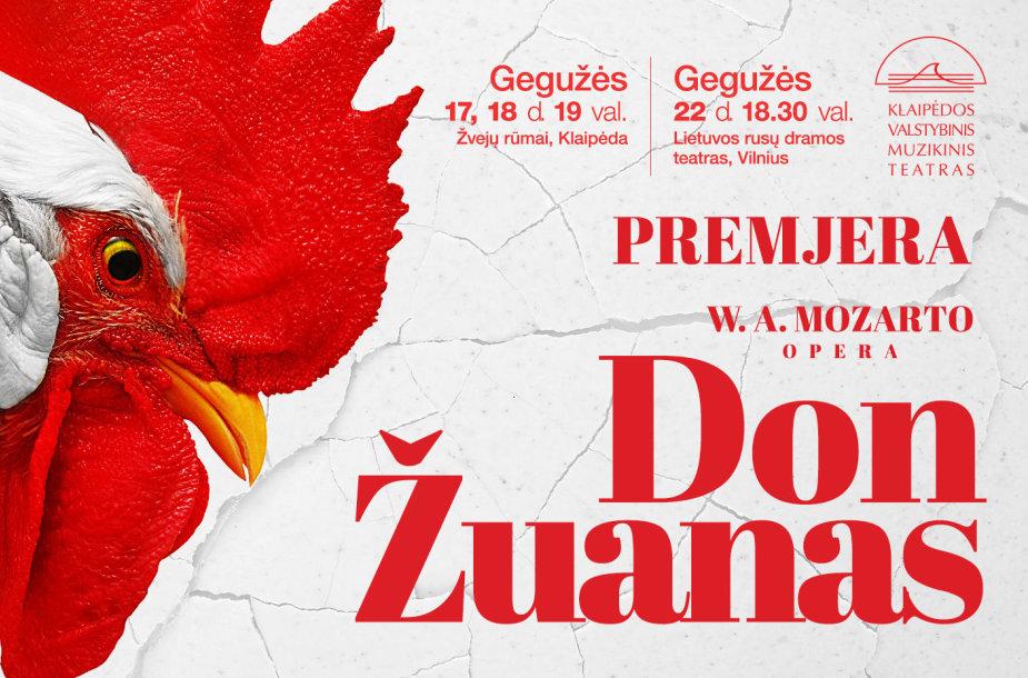 """Opera """"Don Žuanas"""""""