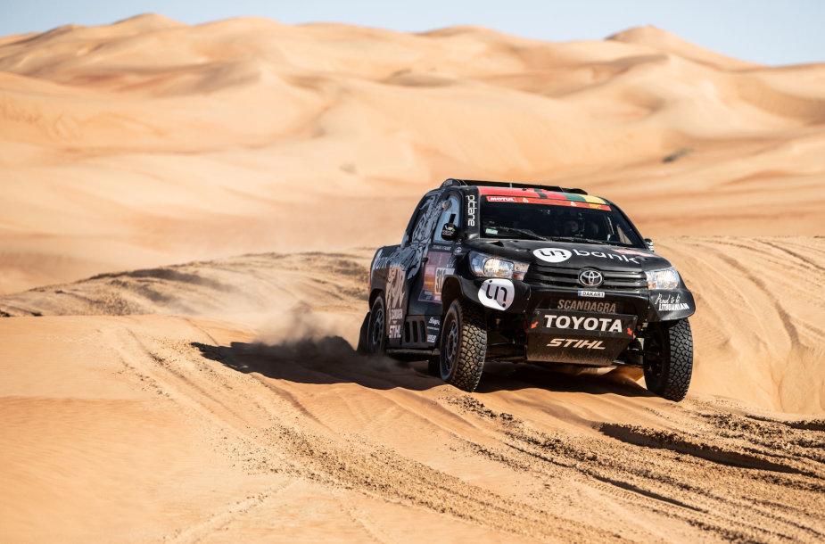 B.Vanagas ir F.Palmeiro pasiekė Dakaro finišą