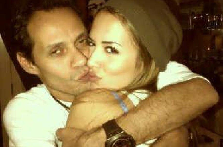 Marcas Anthony su naująja drauge manekene Shannon De Lima