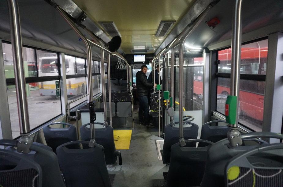Kauno gatvėse – naujos kartos lenkiškas autobusas