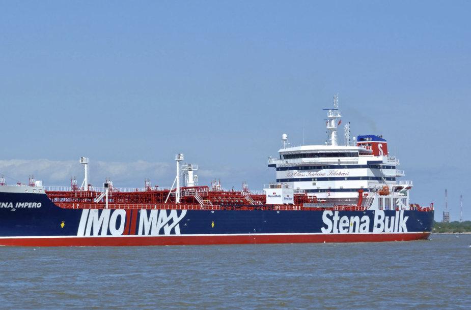 "Tanklaivis ""Stena Impero"""