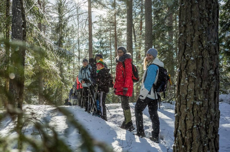 Kelionė į Suomijos Repovesi nacionalinį parką ir trijų dienų pėsčiųjų žygis