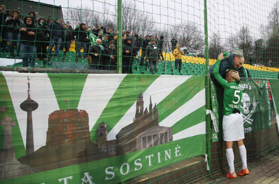 """Vilniaus """"Žalgirio"""" pergalės akimirkos"""