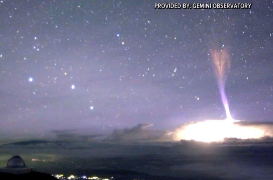 Reaktyvinis žaibas Havajuose