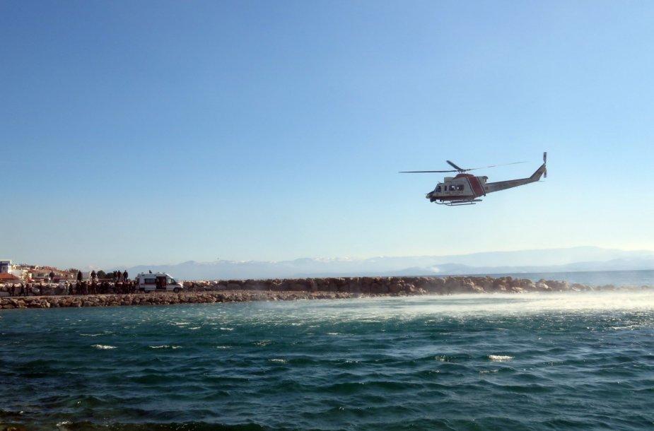Sraigtasparnis Graikijoje