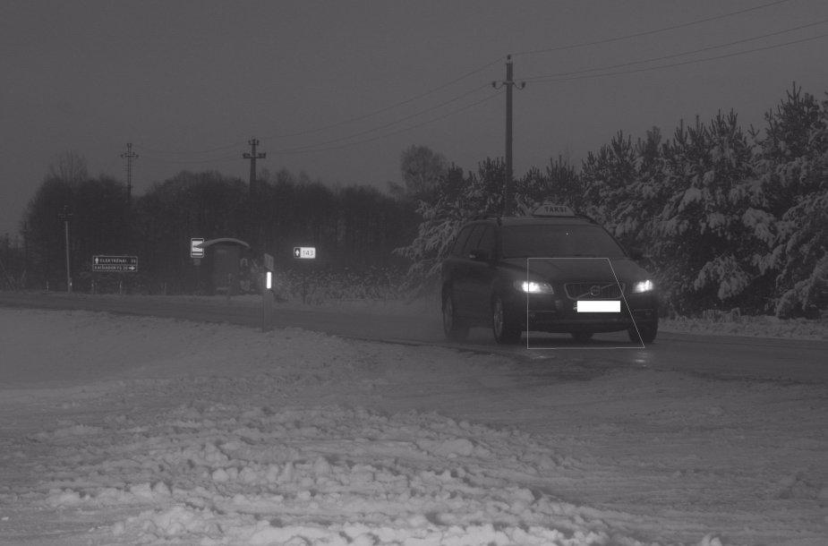 """Reido akimirka: greitį viršijęs """"Volvo XC60"""" vairuotojas"""