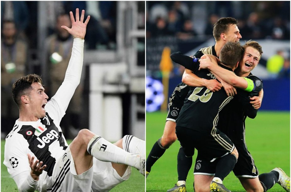 """Amsterdamo """"Ajax"""" pateko į Čempionų lygos pusfinalį."""