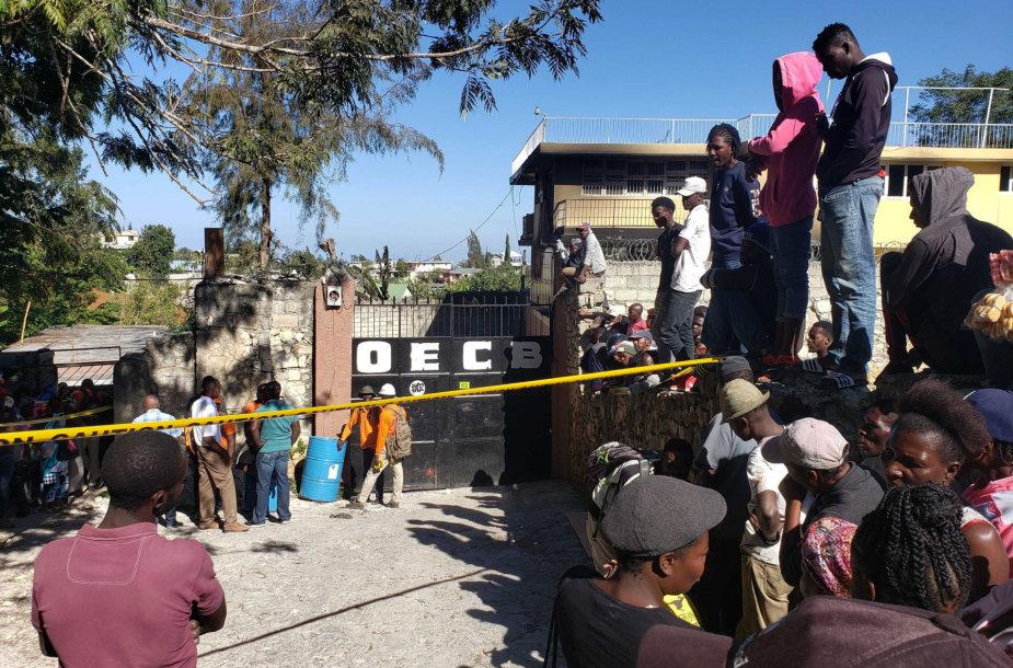 Haityje kilus gaisrui našlaičių namuose žuvo 13 vaikų