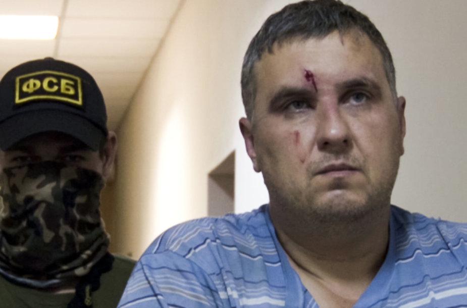 """FST sulaikytas Ukrainos """"agentas"""" Jevhenas Panovas"""
