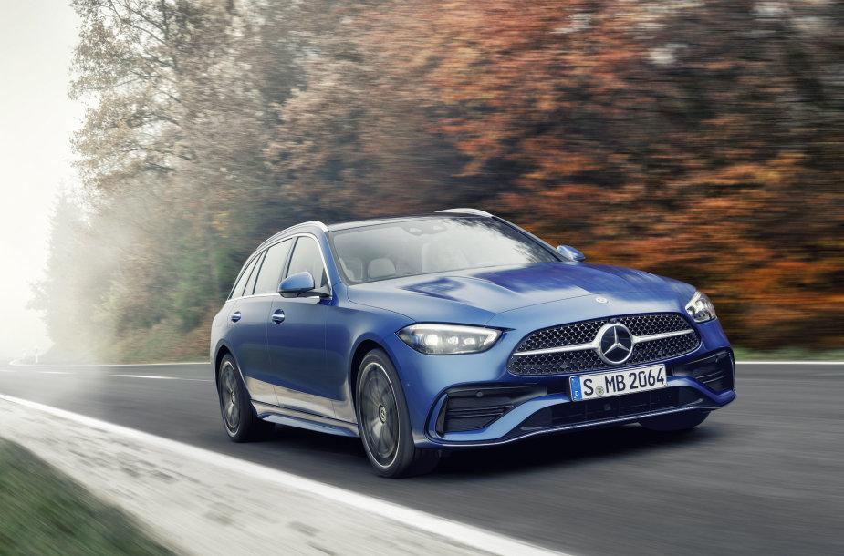 """""""Mercedes-Benz"""" C klasė (2021 m.)"""