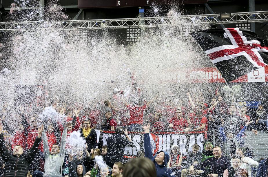 "Europos taurė: Vilniaus ""Lietuvos rytas"" - Sankt Peterburgo ""Zenit"""