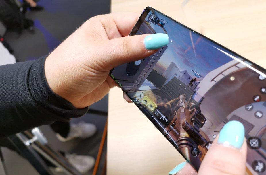 """""""Samsung Galaxy Note 10+"""" išmaniojo telefono pristatymas"""