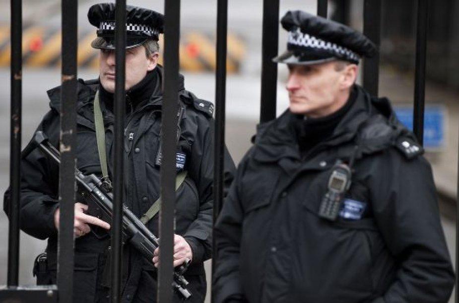 Londono policininkai