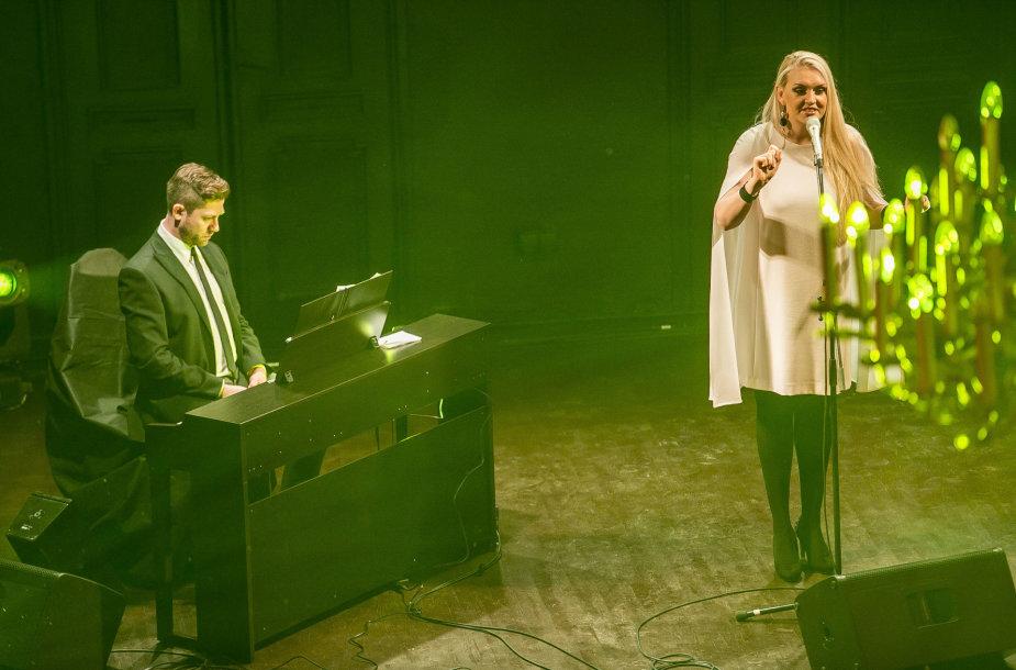 Rūtos Ščiogolevaitės koncerto akimirka