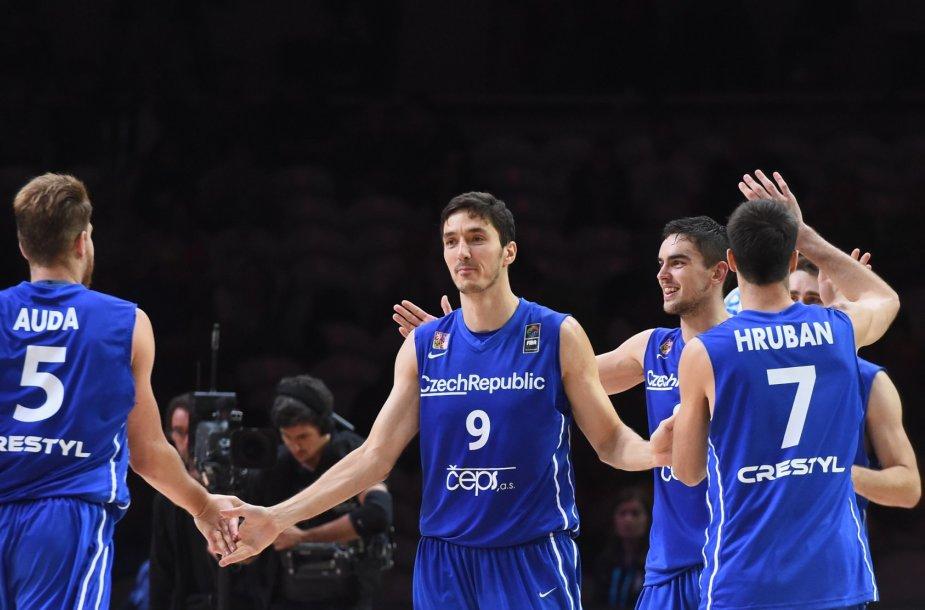 Čekijos krepšininkai