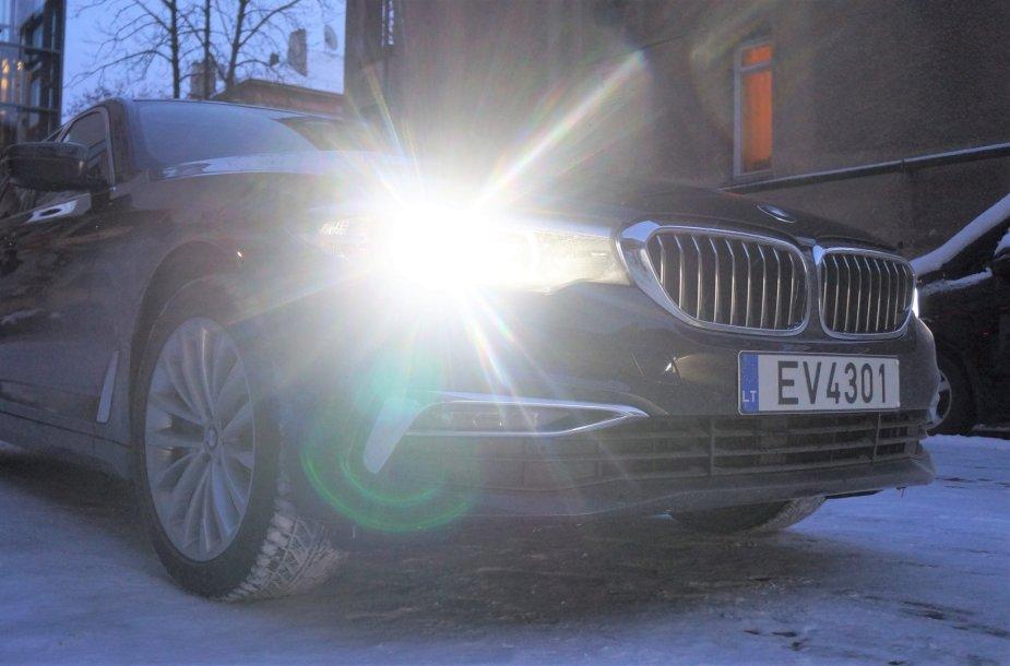 Aplinkos ministerijos BMW 530e