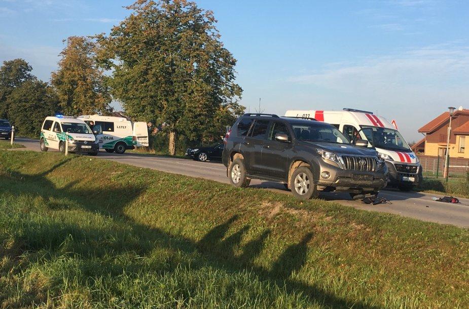 Per avariją Klaipėdos rajone antradienio rytą žuvo paspirtuku važiavęs vaikas.