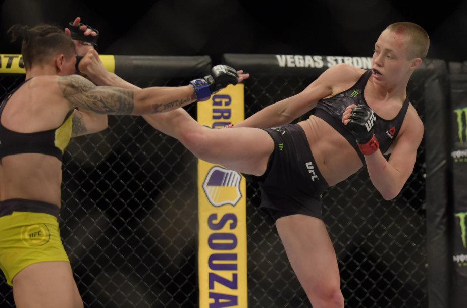 Rose Namajunas jau kovojo su Jessica Andrade pernai Rio de Žanaire.