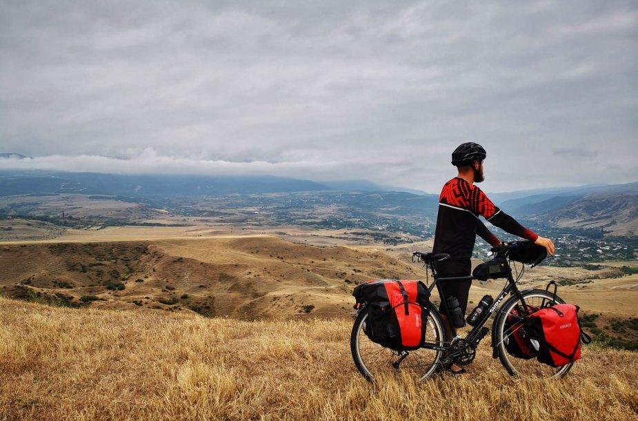 Šiauliečio kelionė aplink pasaulį dviračiu