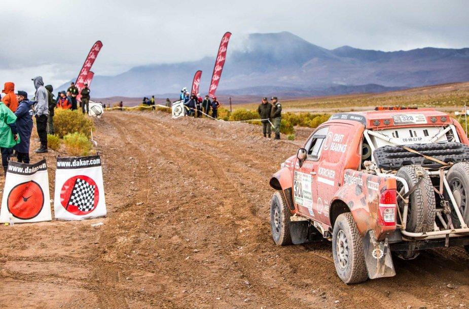 Dakaro ralio trečias etapas