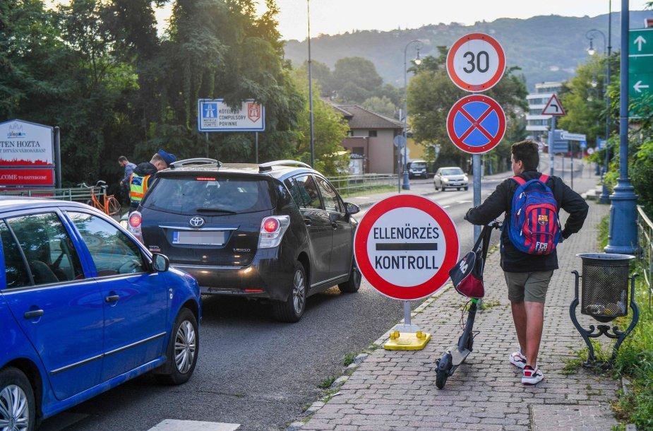 Siena tarp ES narių Slovakijos ir Vengrijos